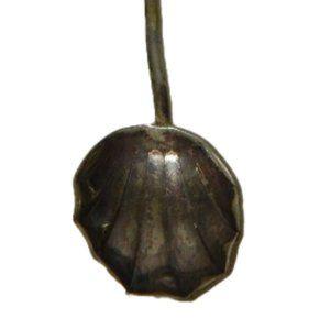 Antique Red Heart Demitasse Spoon 16325